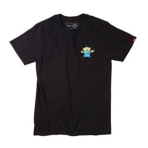 Vans Toy Story Minion 3 eyed Alien Black Shirt XL